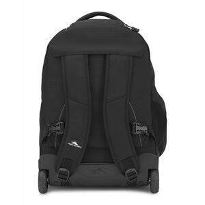 Freewheel Wheeled Backpack in the color Black/Black.