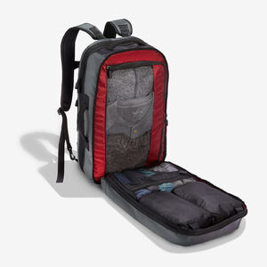 Luxon Travel Backpack in the color Graphite.