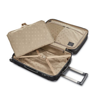 Hartmann Century Deluxe Hardside Extended Journey Expandable Spinner in the color Gunmetal.