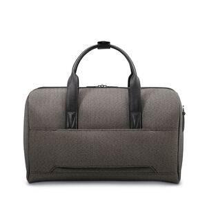 Hartmann Herringbone Deluxe Weekend Duffel in the color Black Herringbone.