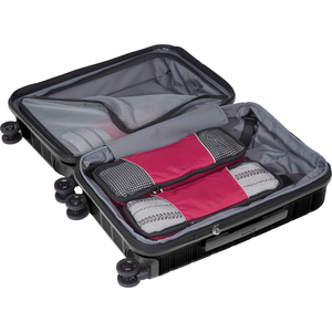 Classic Slim 3Pc Packing Cubes in the color Raspberry.