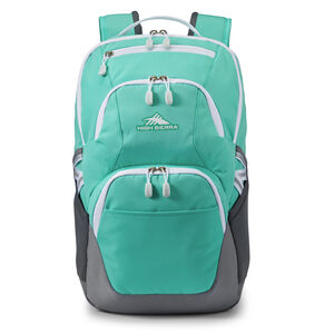 Swoop SG Backpack in the color Aquamarine/White.