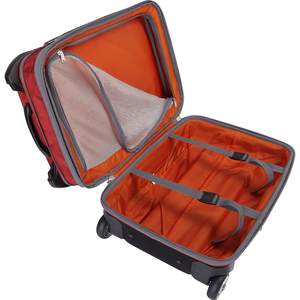 "Tls 22"" Convertible Wheeled Carry-On in the color Heathered Graphite."