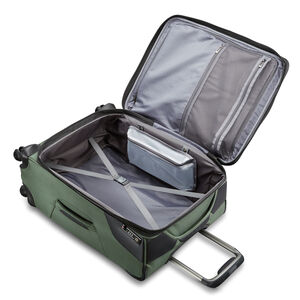 Armage Medium Expandable Spinner in the color Forest Green.