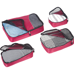 Classic Packing Cubes - 4Pc Small/Med Set in the color Black.