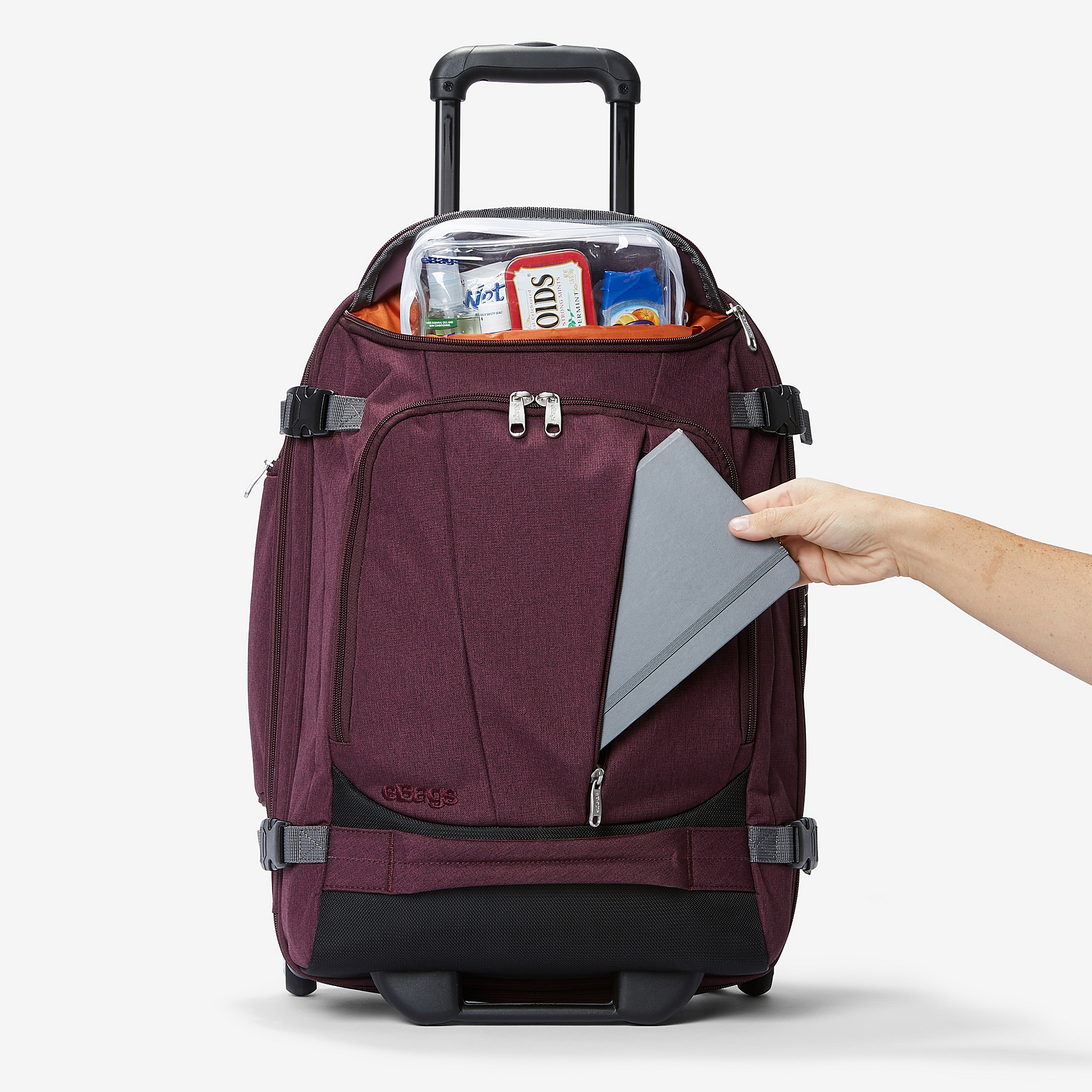 Mother Lode Rolling Travel Backpack