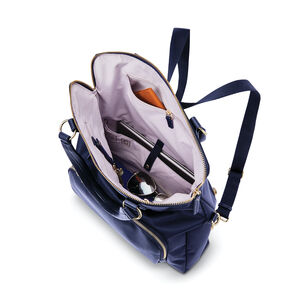 Encompass Womens Convertible Tote Backpack in the color Navy.