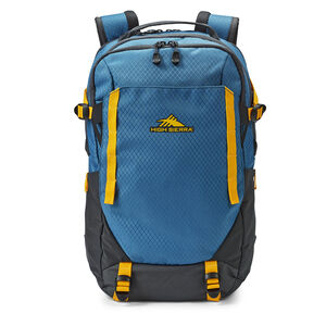 Takeover Backpack in the color Graphite Blue/Golden Yellow.