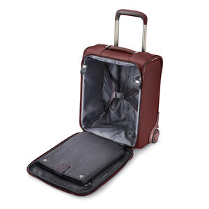 Silhouette 16 Underseat Wheeled Carry-On in the color Cabernet Red.