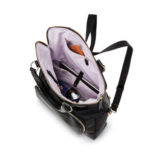Encompass Womens Convertible Tote Backpack in the color Black.