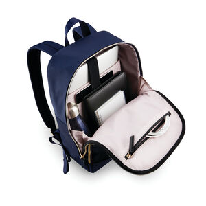 Mobile Solution Classic Backpack in the color Navy Blue.