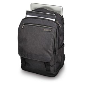 Modern Utility Paracycle Backpack in the color Charcoal Heather/Charcoal.
