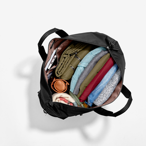 Haswell Duffel in the color Charcoal.
