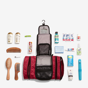 Classic Pack-It-Flat Toiletry Kit in the color Raspberry.
