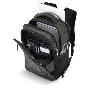 Quadrion Standard Backpack in the color Black.