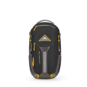 Pathway 30L Pack in the color Black/Slate/Gold.
