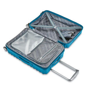 Voltage DLX Carry-On Spinner in the color Teal.