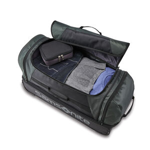 "Andante 2 28"" Wheeled Duffel in the color Riverrock/Black."
