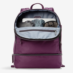 Haswell Laptop Backpack in the color Plum.