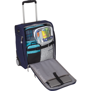 Kalya Underseat Carry-On 2.0 With Usb Port in the color Brushed Indigo.