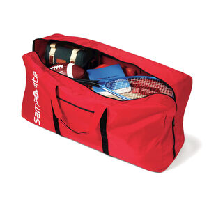 Tote-A-Ton Duffle Bag in the color Red.