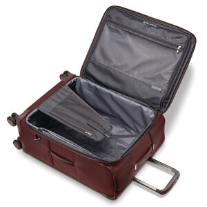 Silhouette 16 Expandable Carry-On Spinner in the color Cabernet Red.