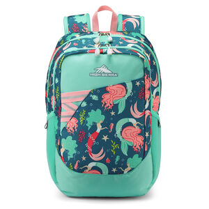Outburst Backpack in the color Mermaid.