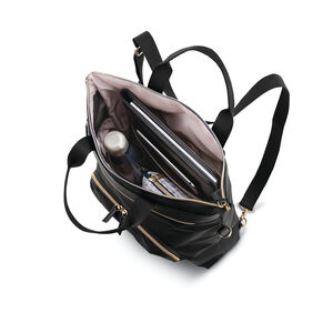Mobile Solution Convertible Backpack in the color Black.