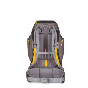 Pathway 50L Pack in the color Black/Slate/Gold.