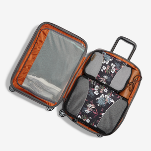 "Mother Lode 22"" Carry-On Spinner in the color Brushed Indigo."