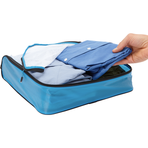 Light 3Pc Packing Cubes in the color Blue.