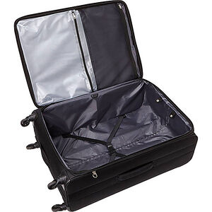 Lamont Extra Large Expandable Spinner in the color Black.