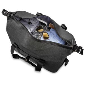SXK Amped Duffel in the color Black/Silver.