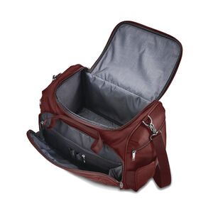 Silhouette 16 Travel Tote in the color Cabernet Red.