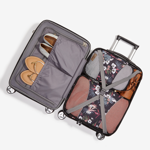 "Monument 22"" Carry-On Spinner in the color Charcoal."